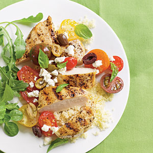 Chicken Breasts with Tomatoes and Olives - Dieta Efectiva